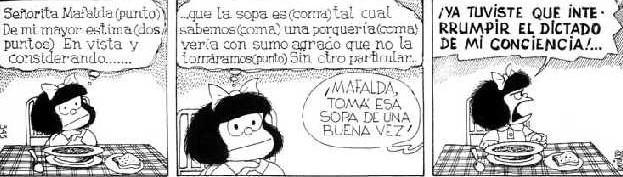 tiras comicas de mafalda: son muchas